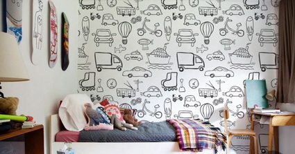 Children's decor with wall paintings 5