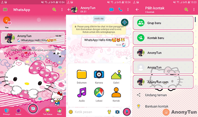 Download Fouad Whatsapp Mod Hello Kitty Versi Terbaru 2019