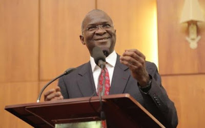 ex lagos state governor babatunde Fashola Ministerial screening.