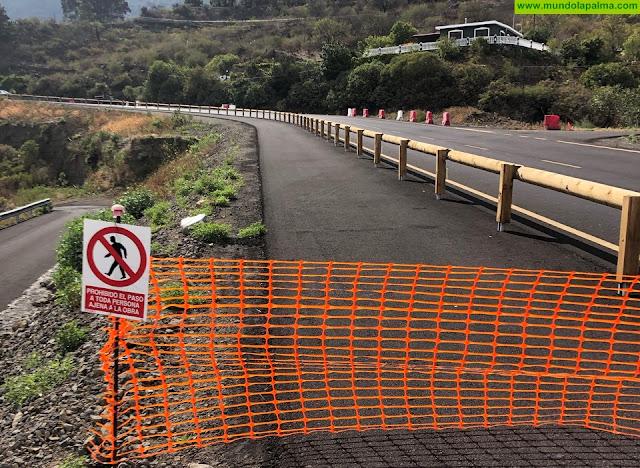 MAE presenta una moción para instar al gobierno de canarias, determinadas acciones en la obra de la carretera LP-2 en Villa de Mazo