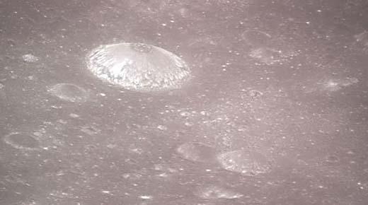 Estructura en forma de domo descubierto en la superficie de la Luna ¿Es una base alienígena?