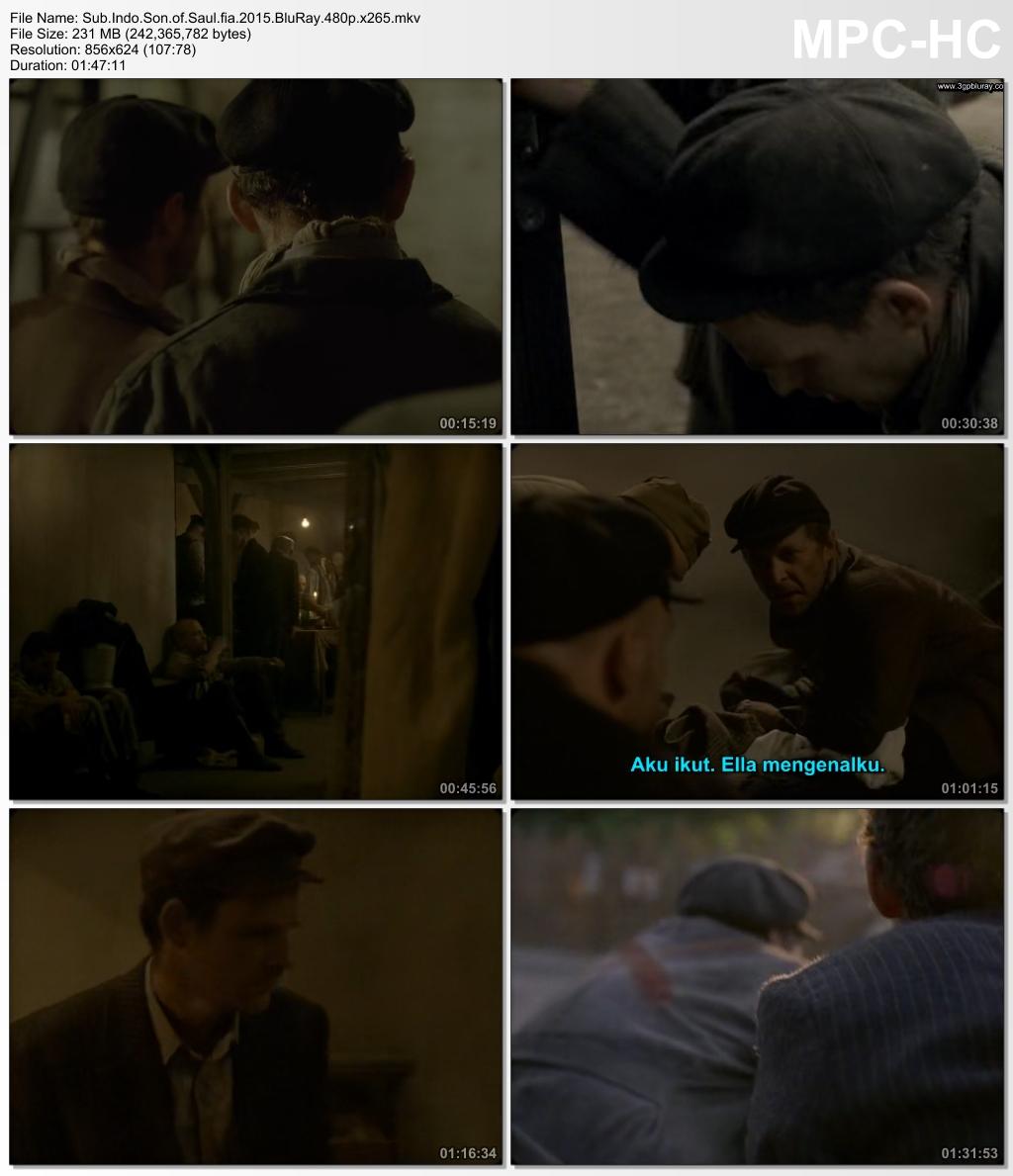 Screenshots Download Film Gratis Son of Saul (2015) BluRay 480p MP4 Subtitle Indonesia 3GP Nonton Film Gratis Free Full Movie Streaming