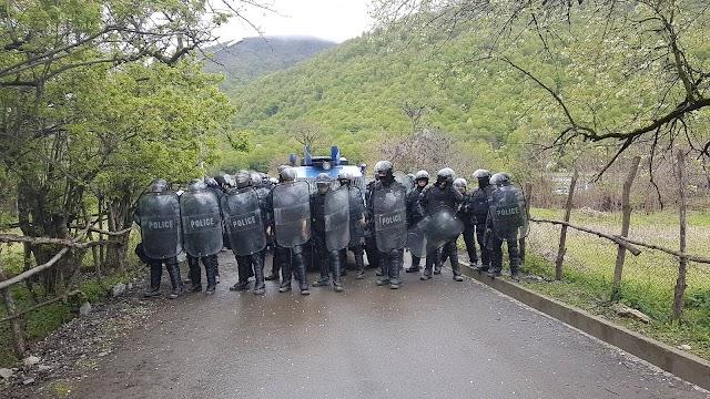 Столкновение жителей Панкиского ущелья со спецназом МВД Грузии - 27 пострадавших