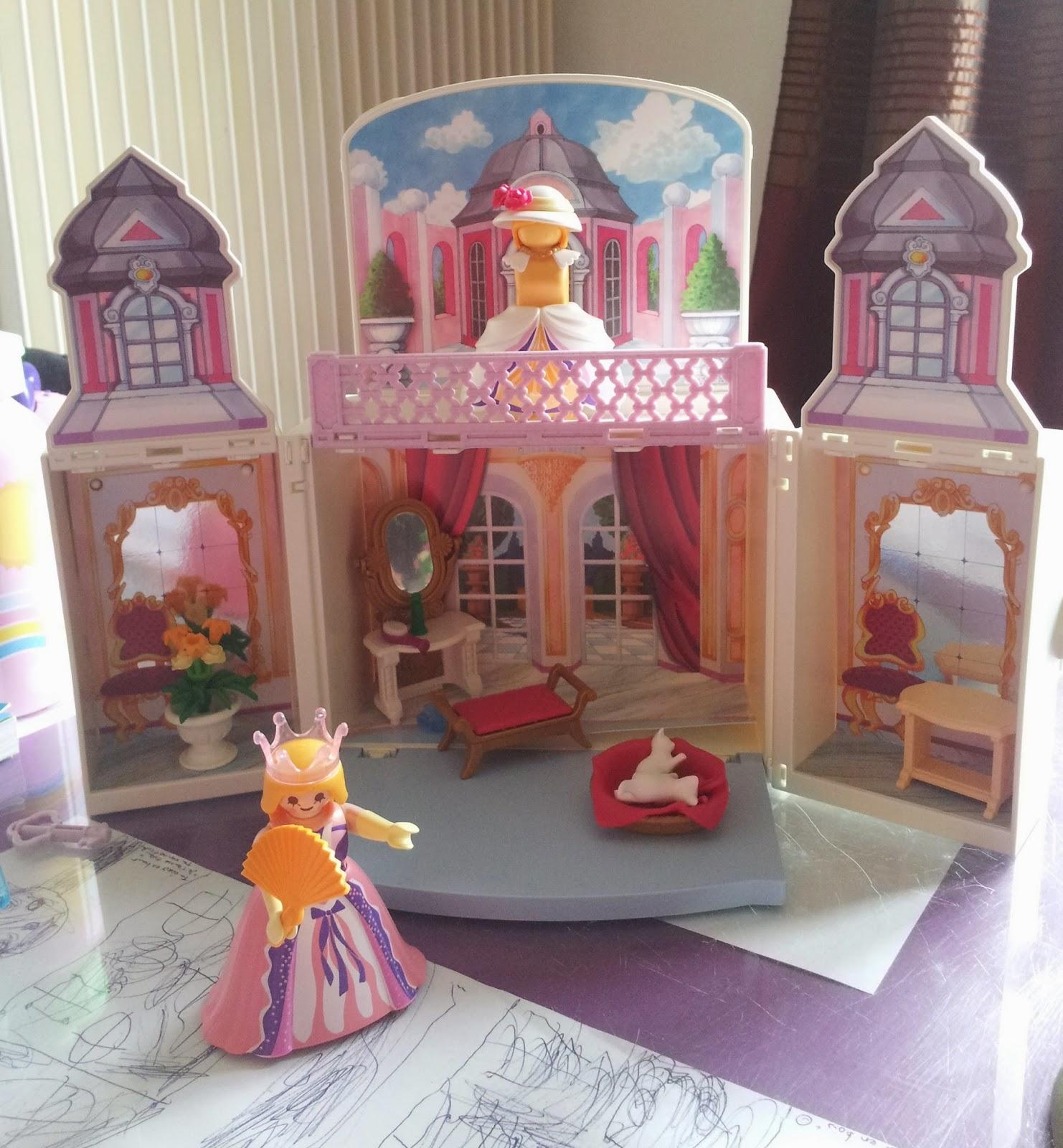 Miniplume Teste Le Coffre Princesse Playmobil