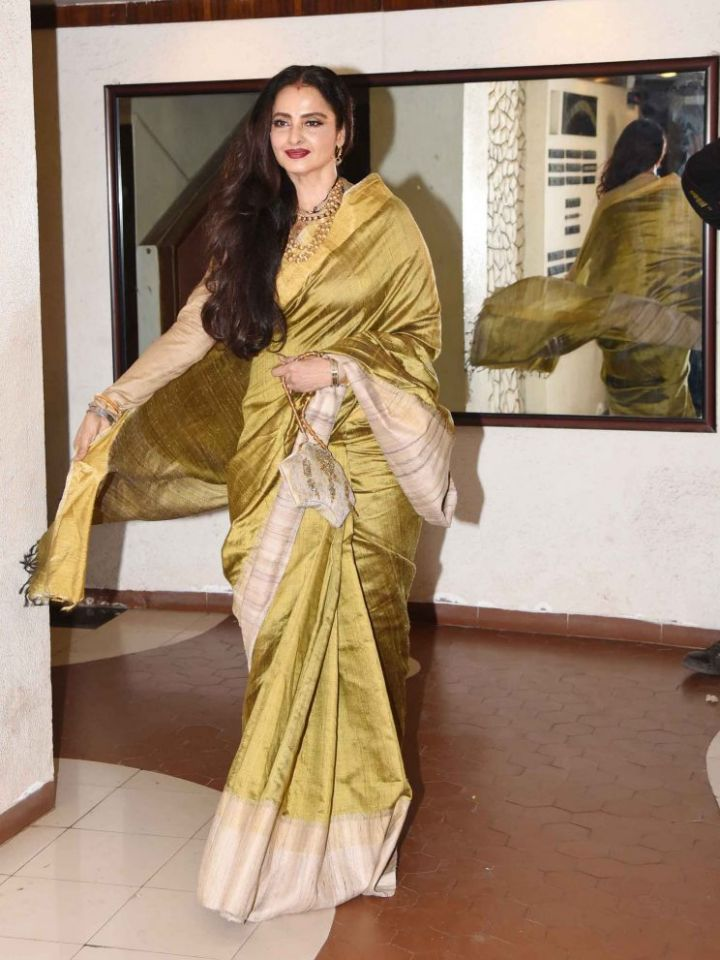 4 Celebrity Matka Silk Saree Looks You Will Love At First Sight