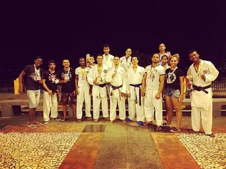 Ubatã: Caratecas faturam 16 medalhas na Copa Grand Pix Bahia de Karatê