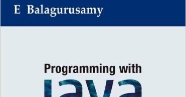 Programming Java Balaguruswamy Pdf