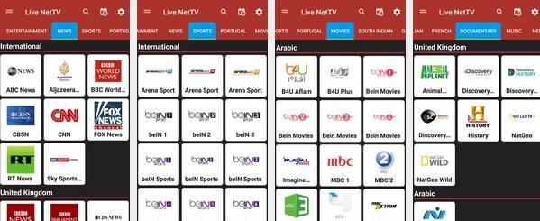 Live Net TV 2018