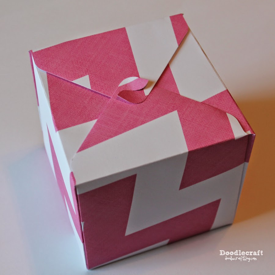Doodlecraft: Gift Box Punch Board!