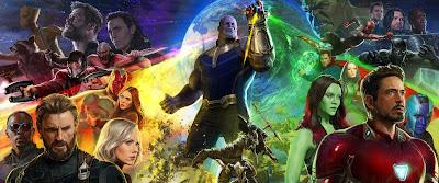 San Diego Comic-Con 2017 Exclusive Avengers Infinity War Concept Art Movie Poster Triptych by Ryan Meinerding