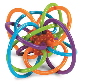 Winkel Rattle - Sensory Teether Toy