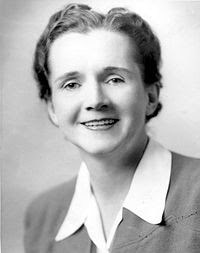 Silent Spring's Rachel Carson in a 1940 Fish & Wildlife Service  employee photo