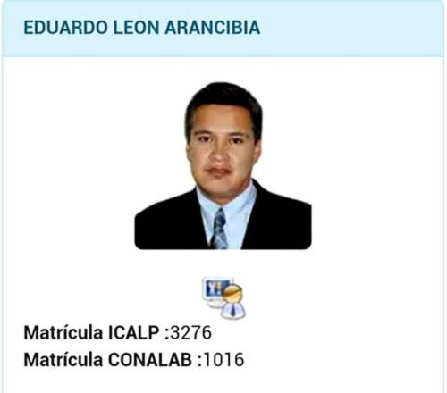 Doctor Eduardo Leon Arancibia