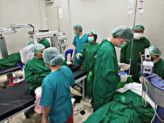 Maknai HUT Boltim, Dinkes Gelar Baksos Pelayanan Operasi Katarak Gratis