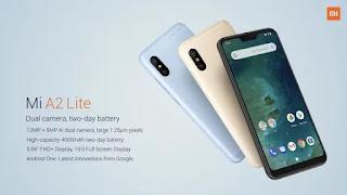 Resmi Diluncurkan, Xiaomi Mi A2 dan Mi A2 Lite Harga Terjangkau