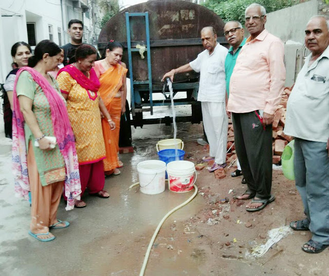 shortage-of-drinking-water-sector-37-faridabad