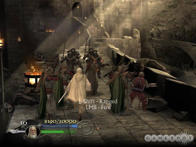 The Lord of The Rings The Return of The King PC Game Download Gameplay 1