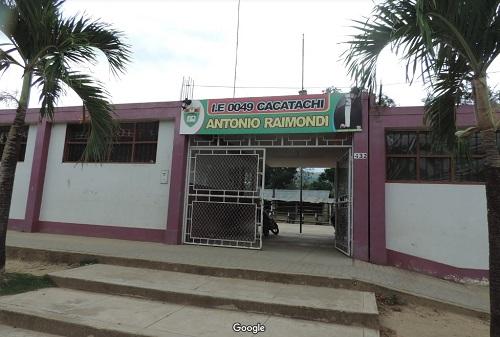 Escuela 0049 ANTONIO RAIMONDI - Cacatachi