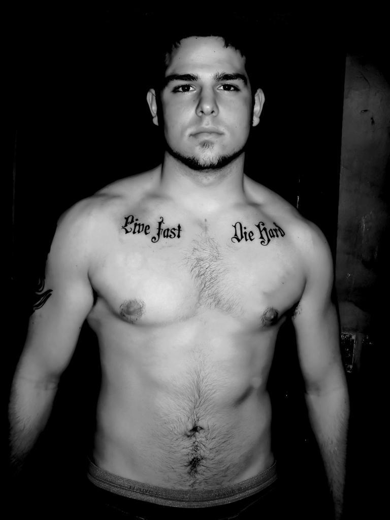 Tribal Tattoos UK: Masculine Chest Tattoos For Men
