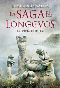 Portada de La saga de los longevos, de Eva García Sáenz de Urturi