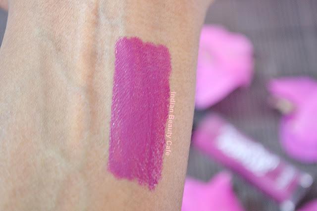 MUA Power Pout Acrylic Lip Gloss Swatch