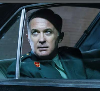 Bermejo jefe del cuartel de Intxaurrondo interpretado por Luis Zahera