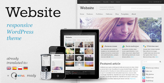 Download Website v5.8.2 - Responsive WordPress Theme | Nulled King