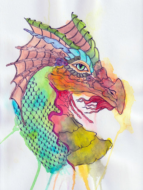 Alice Hendon, dragon named Bramhall, Guest Artist on Doodlewash
