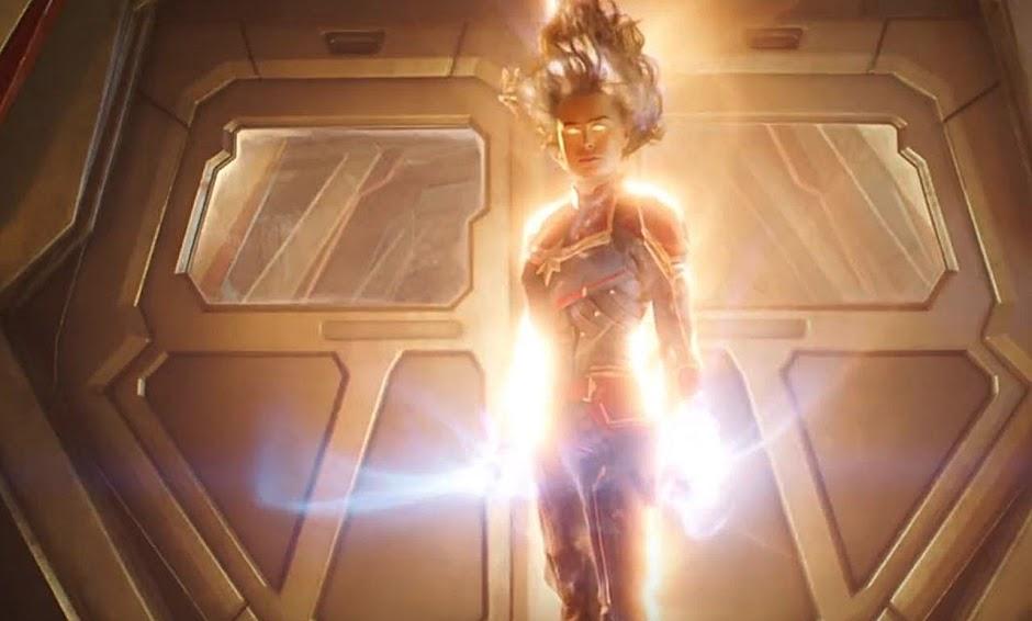 """Novo trailer de """"Capitã Marvel"""" revela mais da poderosa super-heroína"""