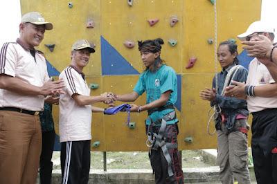 Bupati Pringsewu Buka Olimpiade Olahraga Siswa Nasional (O2SN) 2018