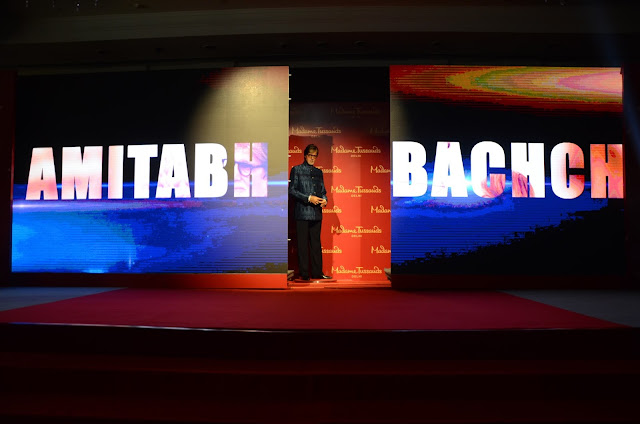 Unveiling of Wax figure of Mr. Amitabh Bachchan
