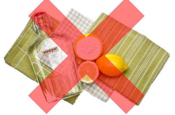 Lemon & Vinegar for cleaning