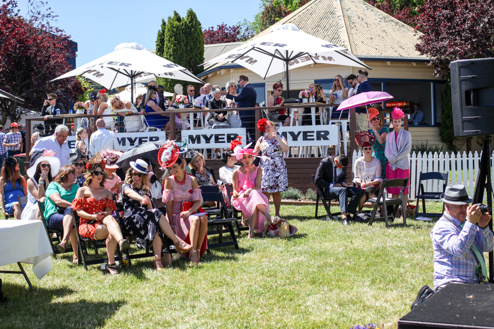 Myer fashions on the field competition at spring racing carnival Ballarat cup 2016