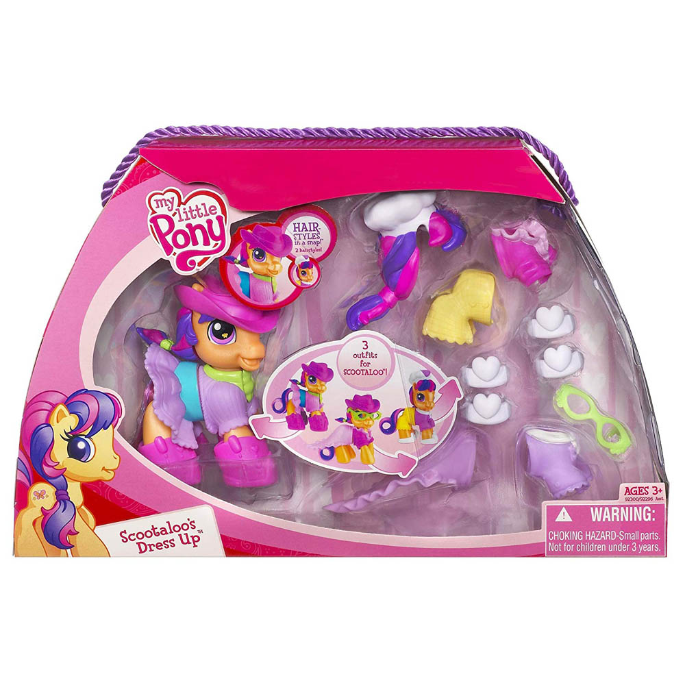 My Little Pony Scootaloo Playsets Scootaloo S Dress Up G3 5 Pony Mlp Merch 9yr · iwantmynarwhal · r/mylittlepony. my little pony scootaloo playsets