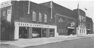 Clark & Lambert Ltd Eastbourne new 1965 showroom exterior
