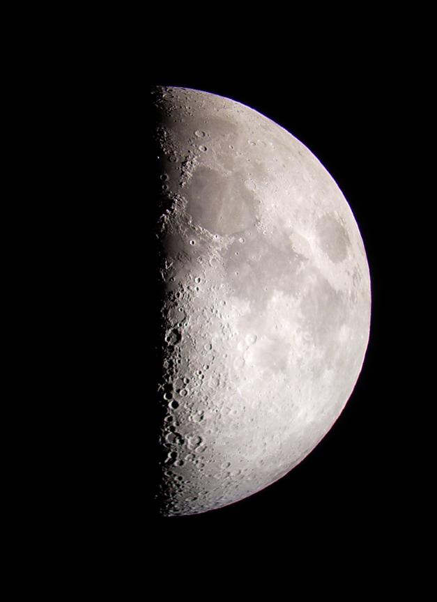 half moon astronomy - photo #25