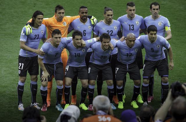 Skuad Uruguay di Copa America 2016