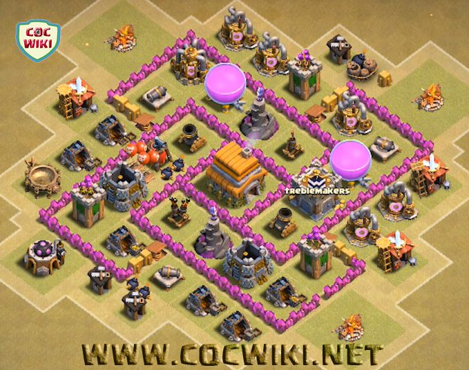 Best town hall th 6 clan war bases cocwiki