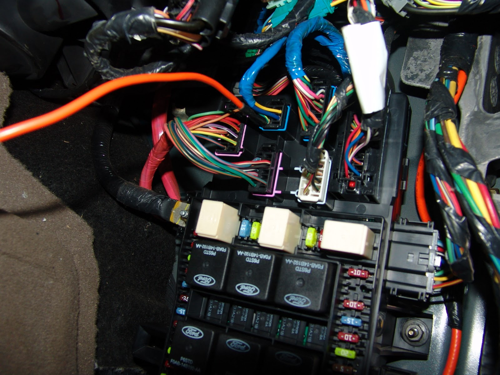 Ford 4000 Ignition Switch Wiring Diagram 3 Pole Contactor 2003 5.4 Expadtion No Fuel Pressure - Truck Enthusiasts Forums