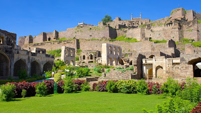 Golkonda Fort in Hyderabad District in Telangana