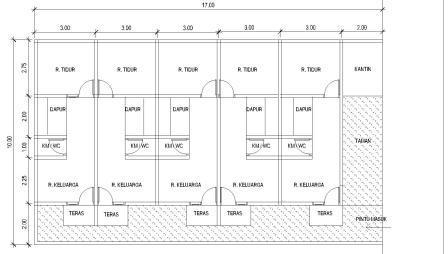 Model Rumah Kontrakan Sederhana