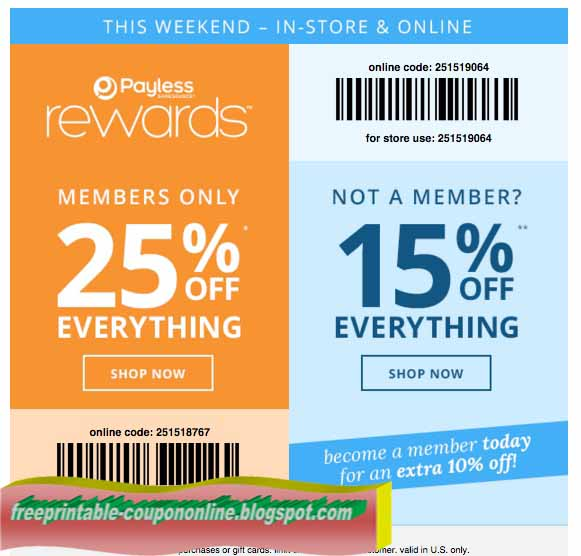 payless coupon 10 off 25 printable