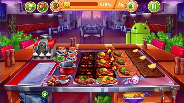 cooking craze mod apk indir