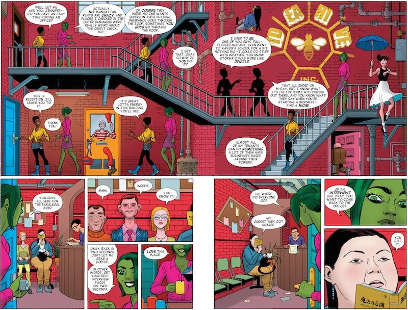 She-Hulk #2  By Charles Soule, Javier Pulido, Muntsa Vicente, Clayton Cowles, Kevin Wada.