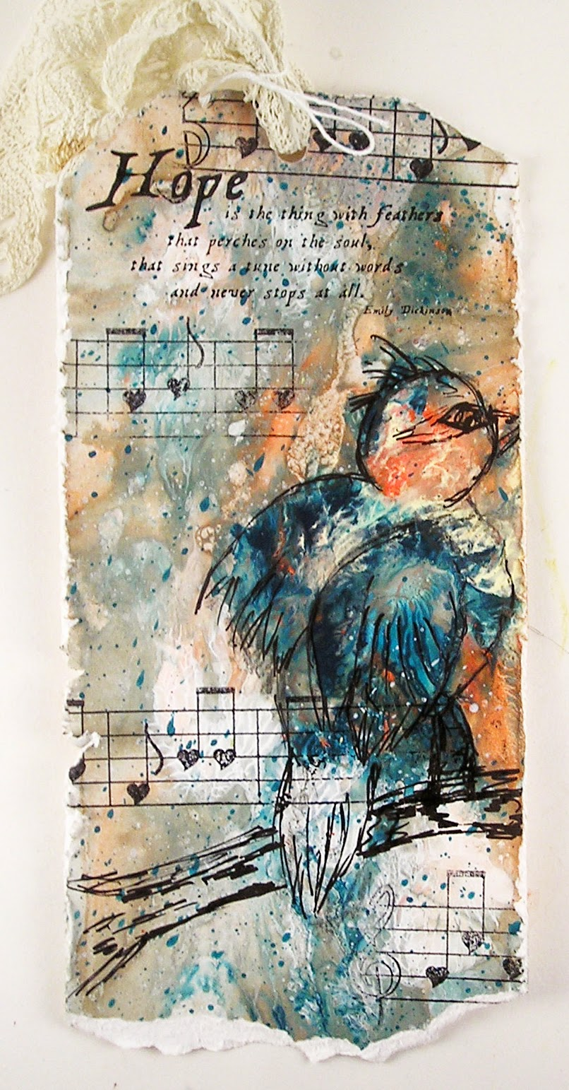 Suzz's Stamping Spot: Intuitive Painting