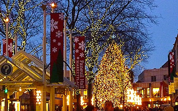 Tree Lighting Ceremony Faneuil Hall Clarendon Square Bed And Breakfast