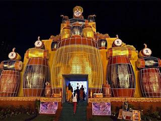 Durga Puja pandal