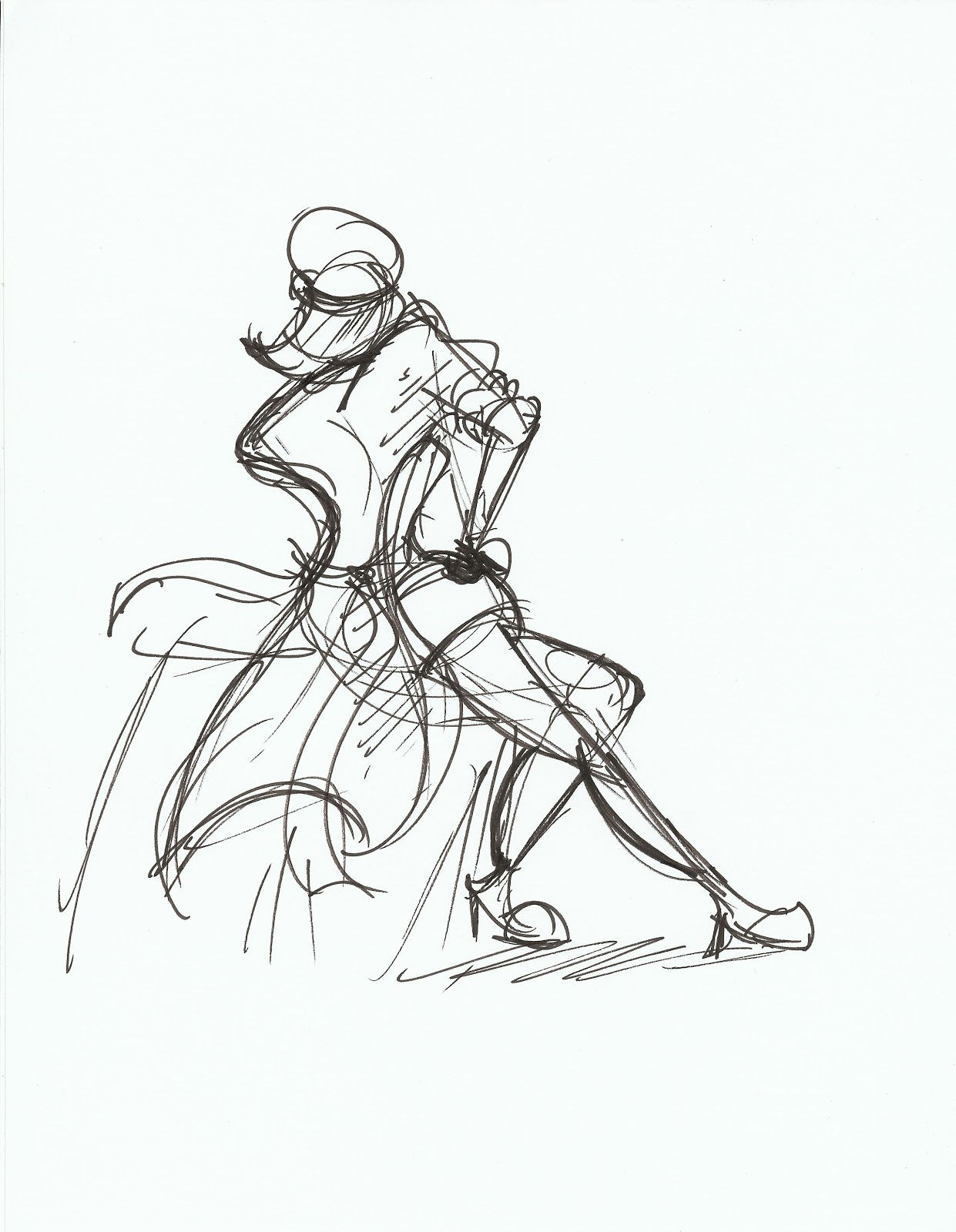 GREG JONES JR.'S SKETCHBOOK: CTN Gesture Drawing After Dark