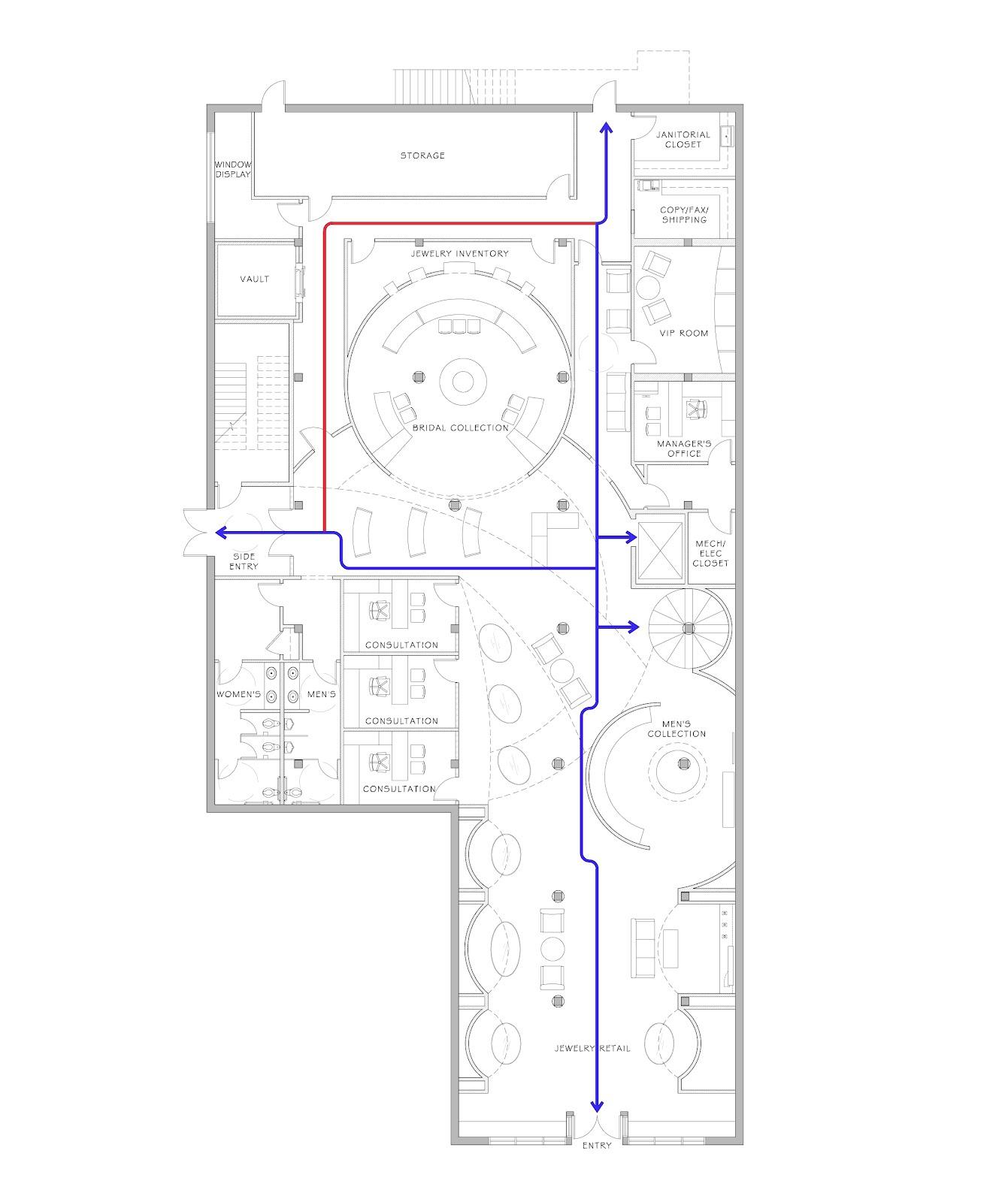 Senior Capstone Project Revised Circulation Diagrams