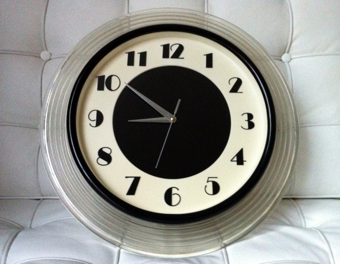 David Dangerous My Art Deco Wall Clock
